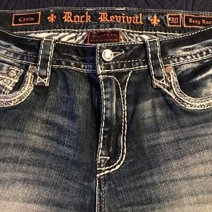 Rock Revival easy straight Sundee